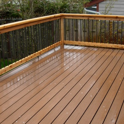 Wood Home Deck